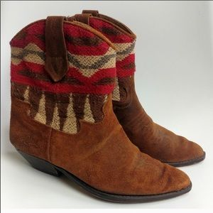 Anthropologie Seychelles southwestern booties